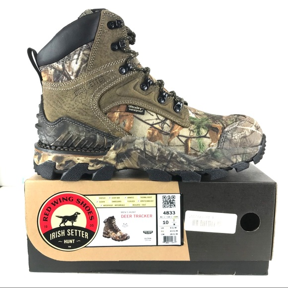 87e87995463 Red Wing Men's Deer Tracker Hunting Boots NWT